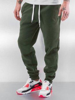 Southpole Spodnie do joggingu Mason  oliwkowy