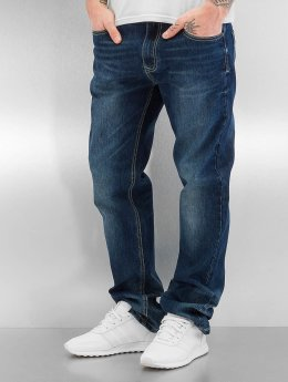 Southpole Straight Fit Jeans Flex blau
