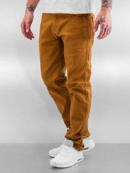 Southpole Straight Fit Jeans Vernon  hnědý