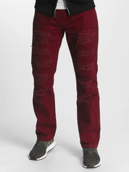 Southpole Straight Fit Jeans Tuscon Slim red