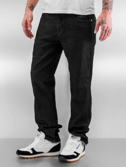 Southpole Straight fit jeans Vernon zwart