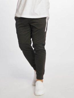 Southpole Sweat Pant Color Block Tech Fleece gray