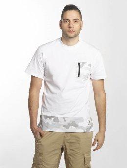 Southpole T-Shirt Pocket blanc