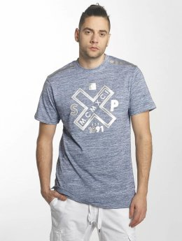 Southpole T-Shirt Marbled blau