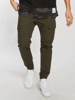 Southpole Ripstop Stretch Cargo Jogger Pants Olive