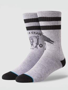 Stance Socken Life's A Grave grau