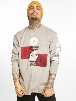 Staple Pigeon Camiseta de manga larga Good Luck gris
