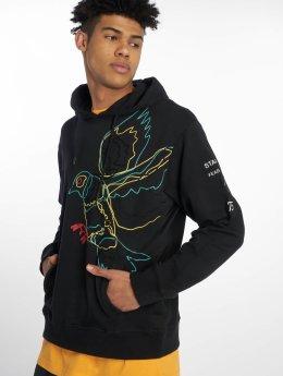 Staple Pigeon Hoodie Embroidered black