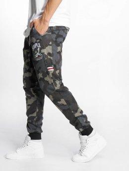 Staple Pigeon Pantalón deportivo Camou negro