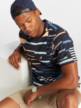 Staple Pigeon T-Shirt Sport Stripe blau