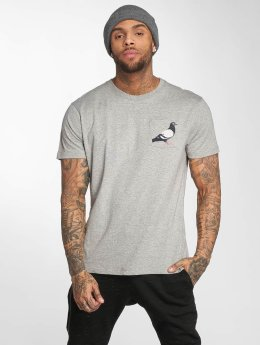 Staple Pigeon T-Shirt Pocket gris