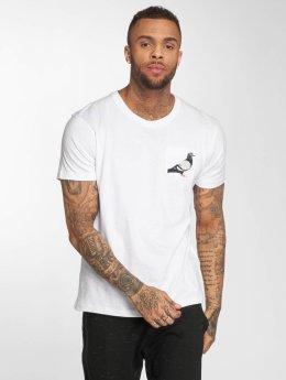 Staple Pigeon T-Shirt Pocket weiß