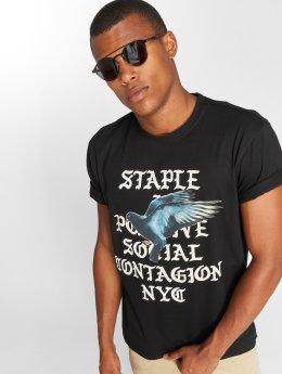 Staple Pigeon t-shirt Gothic zwart