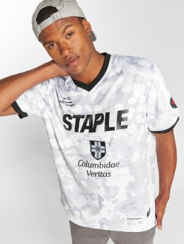 Staple Pigeon T-skjorter FC Staple Soccer Jersey hvit