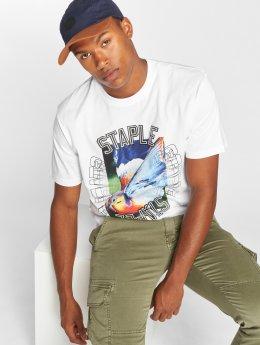 Staple Pigeon T-skjorter Layup Pigeon hvit