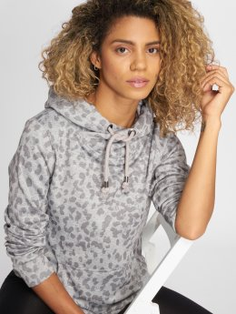 Stitch & Soul Hoody Speckled grau