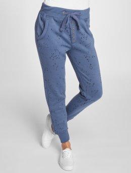 Stitch & Soul joggingbroek Stars blauw