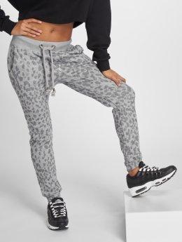 Stitch & Soul joggingbroek Sweat grijs