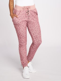 Stitch & Soul Jogginghose Sweat Pants rosa
