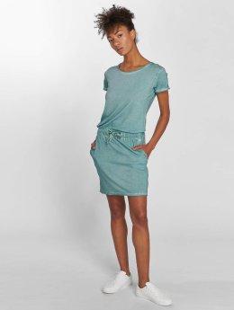 Stitch & Soul Kleid Midi blau
