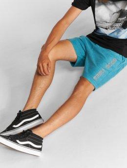 Stitch & Soul Shorts Sweat blau
