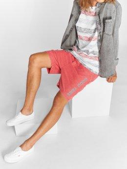 Stitch & Soul Shorts Sweat rosso
