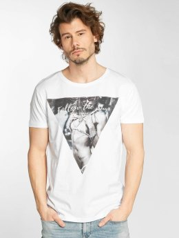 Stitch & Soul T-Shirt Follow The Sun blanc