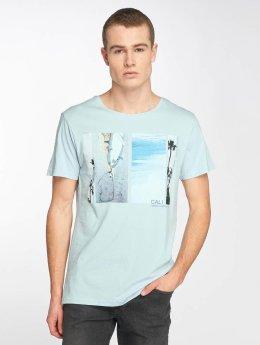 Stitch & Soul t-shirt Cali blauw