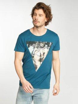 Stitch & Soul t-shirt Deep Lake blauw