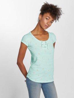 Stitch & Soul T-shirt Flamingo turchese