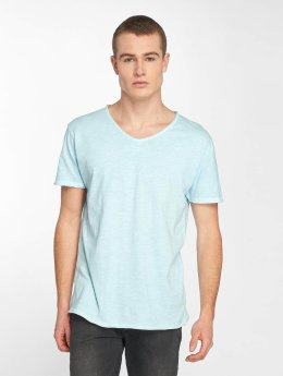 Stitch & Soul T-shirts Basic blå