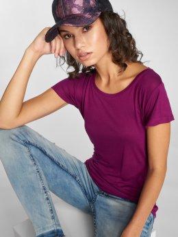 Stitch & Soul T-skjorter Base lilla