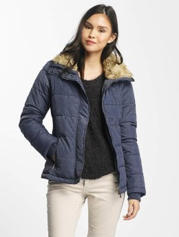 Stitch & Soul Winterjacke Stand Up Collar blau