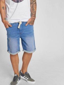 Sublevel Šortky Jogg Jeans Bermuda modrá