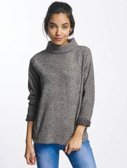 Sublevel Пуловер High Neck серый