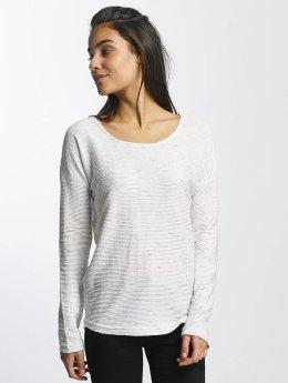 Sublevel Camiseta de manga larga Oversize blanco