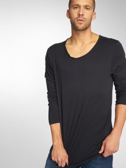 Sublevel Camiseta de manga larga Basic negro