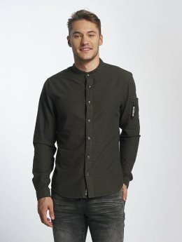 Sublevel Hemd Button Down olive
