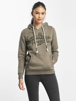 Sublevel Hoody Love Peace Happiness olive