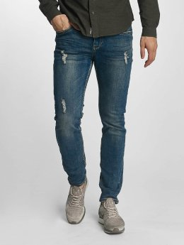 Sublevel Jean slim Destroyed Look bleu