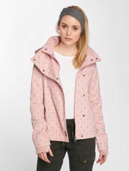 Sublevel Lightweight Jacket Hooded rose