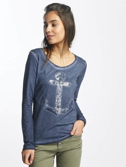 Sublevel Longsleeve Anchor blue