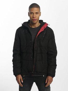 Sublevel Manteau hiver Quilted noir