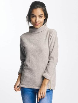 Sublevel Pullover High Neck grau