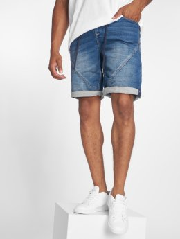 Sublevel Shortsit Sweat Denim Optics sininen