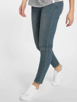 Sublevel Skinny Jeans Dark Blue Denim blau