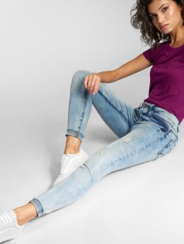 Sublevel Skinny jeans Ripped blauw