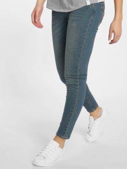 Sublevel Skinny jeans Dark Blue Denim blauw