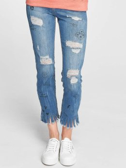 Sublevel Frauen Slim Fit Jeans inlove in blau