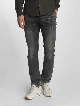 Sublevel Slim Fit Jeans Slim Jogger Jeans grau